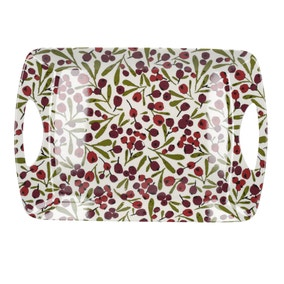 Large Winter Berry Tray