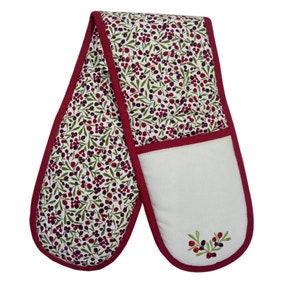 Enchanted Lodge Double Oven Glove
