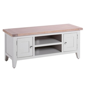 Chalked Oak TV Stand
