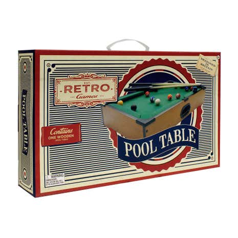 Retro Games Miniature Pool Table