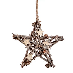 Sparkle Star Decoration