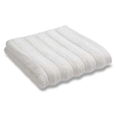 Bianca Cotton Cream Ribbed Towel
