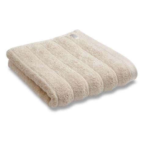 Bianca Cotton Natural Ribbed Towel