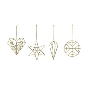 Pack of 4 Geometric Shapes