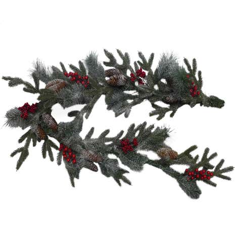 Frosted Berry Garland