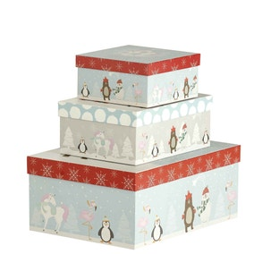 Christmas Toy Chest Gift Box
