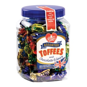 Jar of Assorted Toffees