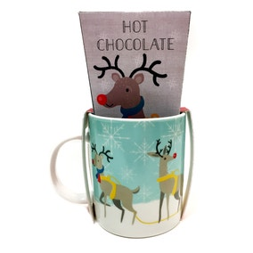 Reindeer Hot Chocolate and Mug