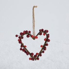Berry Heart Decoration