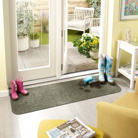 Marvel Mat Sage Washable Runner 50x150cm