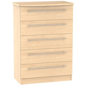 Sherwood Light Oak 5 Drawer Chest
