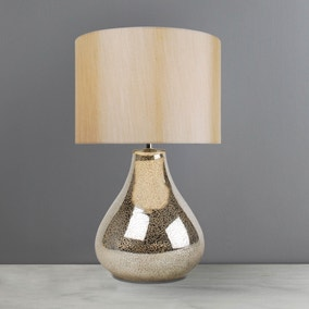 ariel champagne glass table lamp - Table Lamps