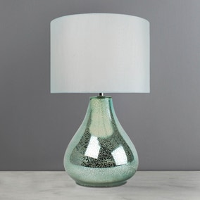 Ariel Duck Egg Glass Table Lamp