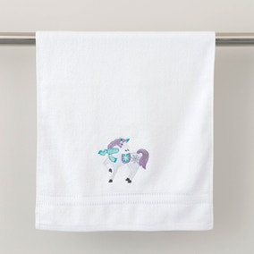 Unicorn Christmas Hand Towel