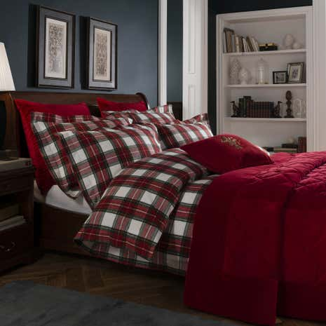 Dorma Brodie Brushed Cotton Duvet Cover and Pillowcase Set