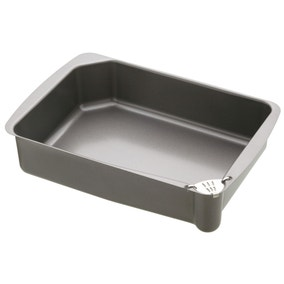 Masterclass Stainless Steel Roasting Pan with Pouring Lip