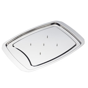 Kitchencraft Masterclass Stainless Steel Spiked Carving Tray