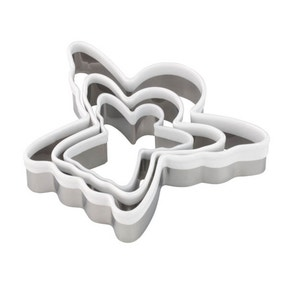 Tala Set of 3 Soft Touch Angel Cookie Cutters