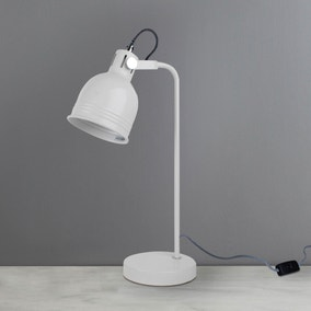 Owen White Task Lamp