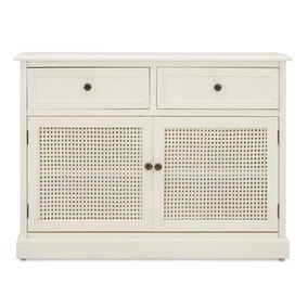 Lucy Cane White Small Sideboard