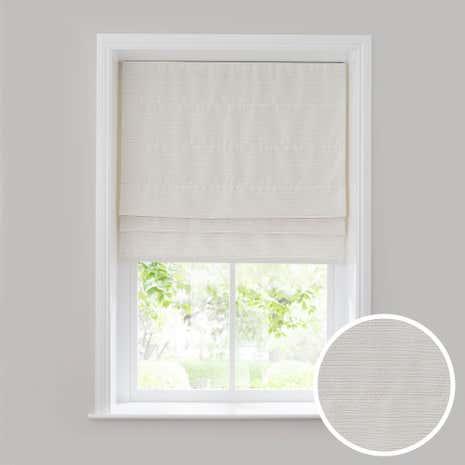 white glimmer roman blind dunelm. Black Bedroom Furniture Sets. Home Design Ideas