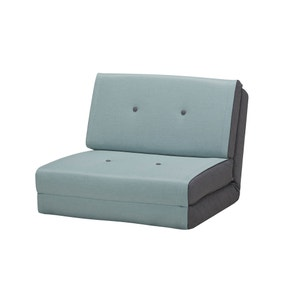 Zeta Teal Chair Bed