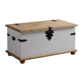 Corona Grey Storage Chest