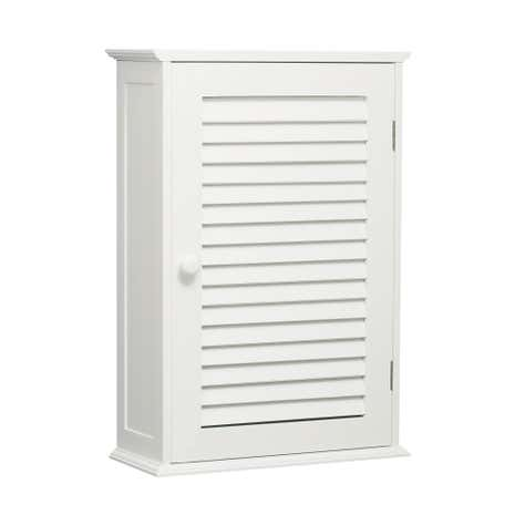 Portland White Single Wall Cabinet
