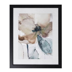Watercolour Floral Framed Print