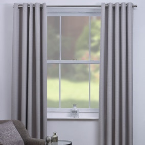 Chester Natural Thermal Eyelet Curtains