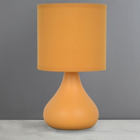 Blake Ochre Table Lamp