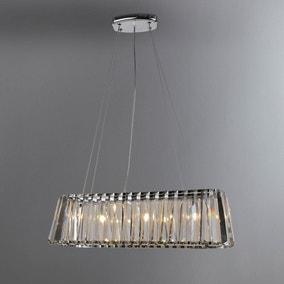 ceiling lights pendant flush lights dunelm page 2. Black Bedroom Furniture Sets. Home Design Ideas