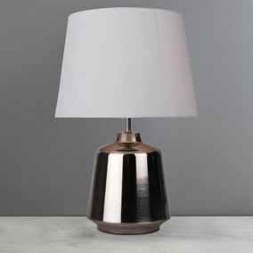 Romeo Chrome Touch Lamp