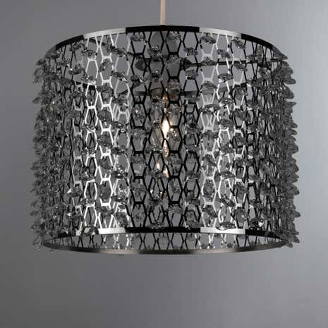 Black Metal Lamp Shades Furniture Black Lampshades For
