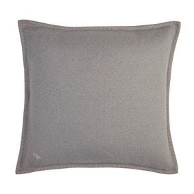 Jan Constantine Large Grey Blanket Stitch Cushion