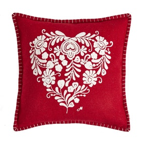 Jan Constantine Classic Heart Cushion