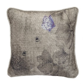 Harris & Hatherly by Jane Abbott Bees and Hellebore Cushion