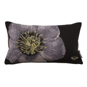Harris & Hatherly by Jane Abbott Hellebore Tapestry Cushion