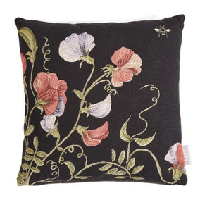 Harris & Hatherly by Jane Abbott Sweetpea Tapestry Cushion