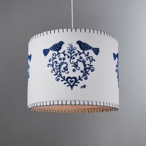 Jan Constantine Blue Peacock Light Shade