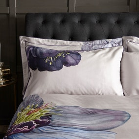 Harris & Hatherly by Jane Abbott Hellebore Digitally Printed 100% Cotton Oxford Pillowcase Pair