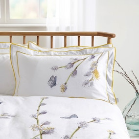 Harris & Hatherly by Jane Abbott Willow Digitally Printed 100% Cotton Oxford Pillowcase Pair