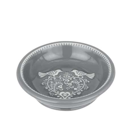 Jan Constantine Love Birds Grey Soap Dish