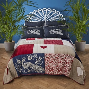 Jan Constantine 100% Cotton Patchwork Bedspread