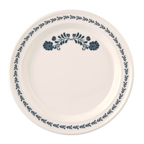 Jan Constantine made by Portmeirion Blue Dinner Plate