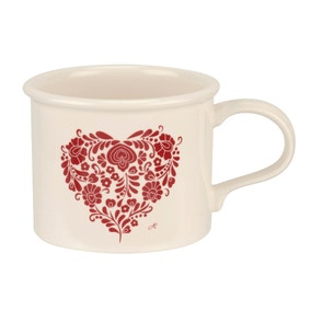 Jan Constantine and Portmeirion Love Heart Red Mug
