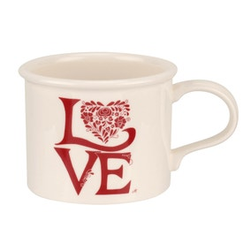 Jan Constantine and Portmeirion Love Red Mug