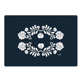 Jan Constantine Pack of 4 Blue Placemats