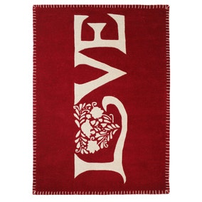 Jan Constantine Red Love Rug