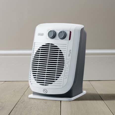 delonghi hvf3032 2 2kw upright fan heater dunelm. Black Bedroom Furniture Sets. Home Design Ideas